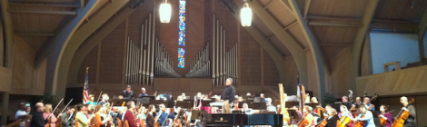 Performance with the Hilton Head Symphony