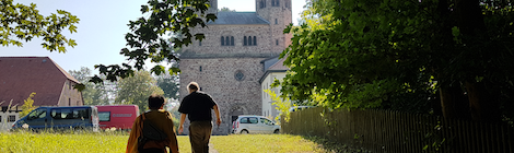 Audio Recording at Bursfelde Abbey in Germany