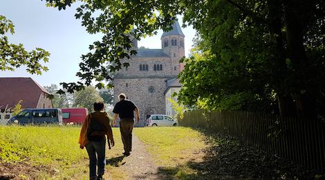 Audio Recording at Bursfelde Abbey in Germany